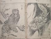 日本印刷的《金玉画府》卷一,46页,尺寸:17.8*25.5cm