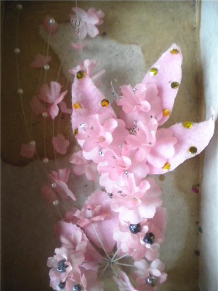 手工绢花图片