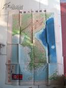 朝鲜地形大挂图【1951年9月初版】