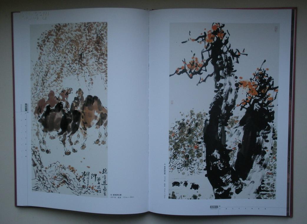 套盒精装大8开 当代中国画坛著名丝路大写意画家《中国当代名家画集图片