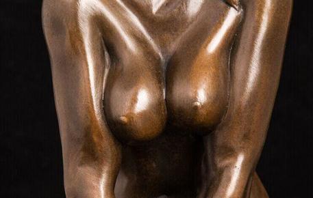 铜雕艺术品 铜雕塑 家居摆件 欧式雕塑 诱惑图片