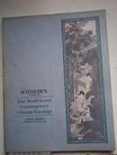 中国近现代书画专场拍卖图录---香港苏富比1995年5月