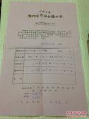 57年老 公私合营.广州市防治白蚁公司.期满通知书(编号99)