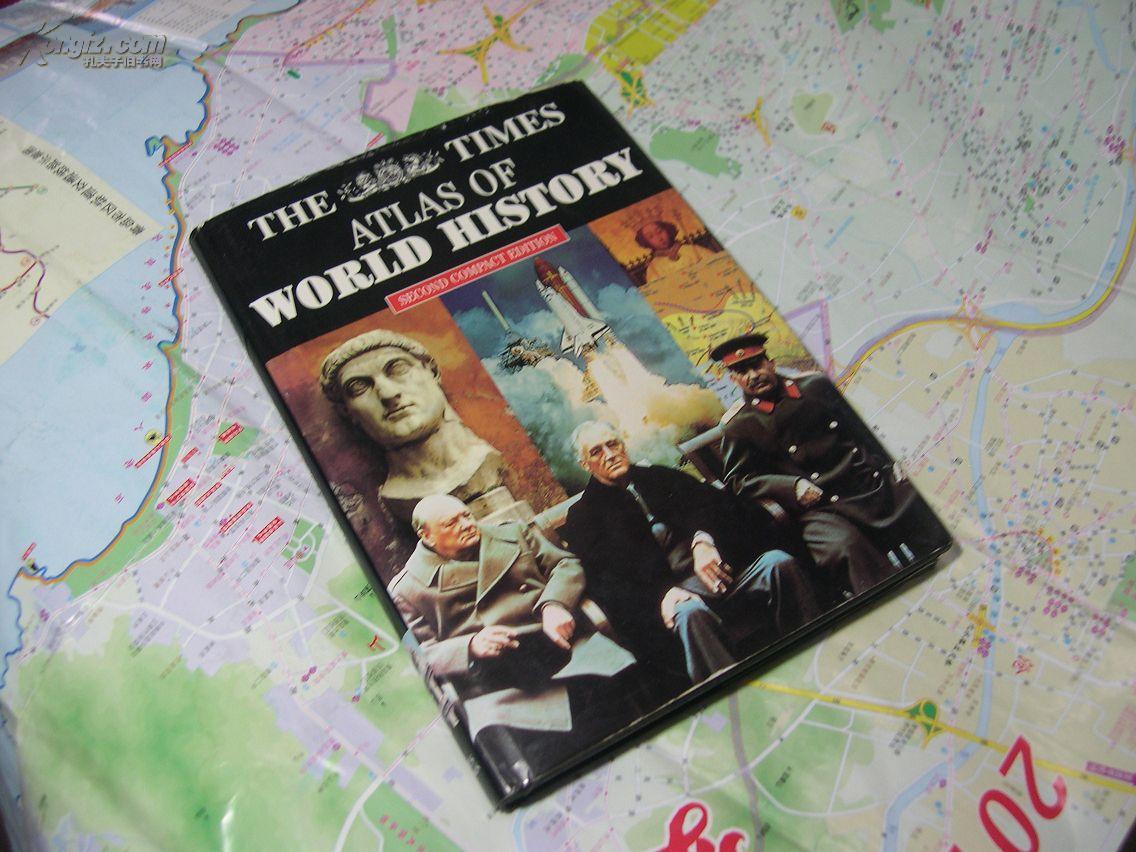 泰晤士世界历史地图集the