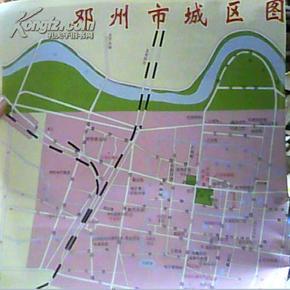 邓州市城区图