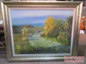 著名油畫家姚遠  油畫作品一幅 88*68厘米