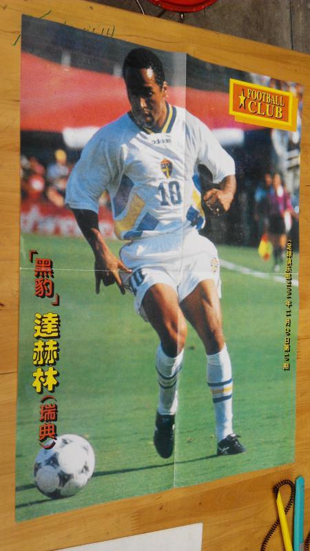 【图】足球明星海报:黑豹--达赫林(