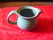 紫砂蓝釉小茶壶