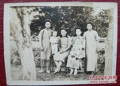 【民国老照片】民国旗袍美女们~~有生活味~