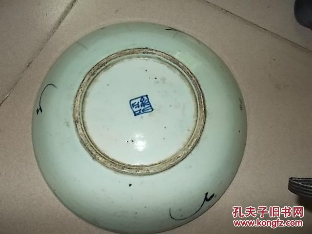 陶器瓷器>瓷器 品相描述:七品                      :民国景德镇青花图片