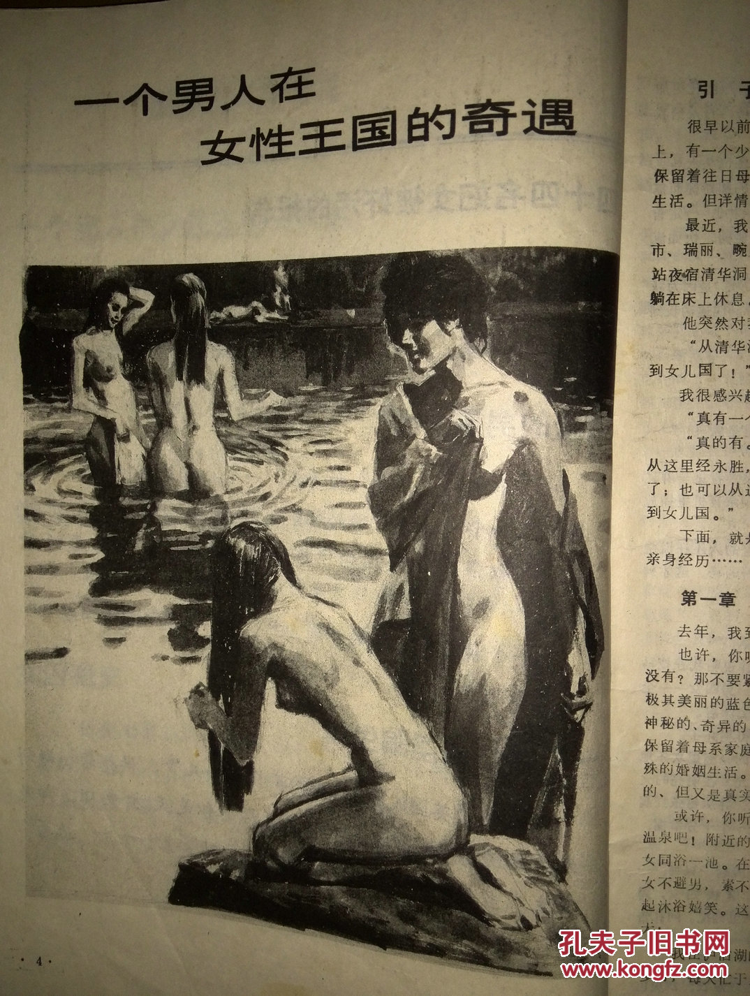 欧美一女多男淫乱图_一个男人在女性王国的奇遇,1989一版一印,《游荡在夜幕下的摩登女郎》