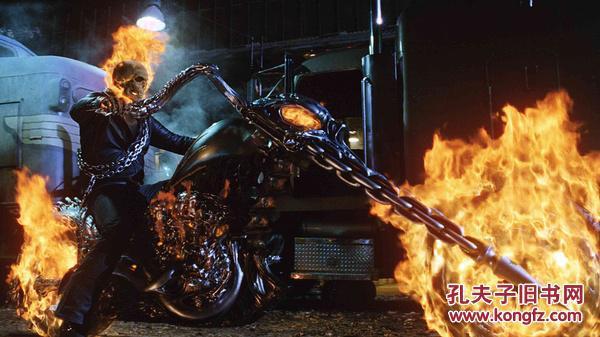 漫威 灵魂战车 恶灵骑士Ghost Rider 2007 双碟 dvd