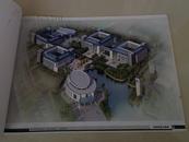池州学院新校区二期总体规划(详细规划)大规格书籍长42公分,宽30公分,介绍全面,详细规划 图