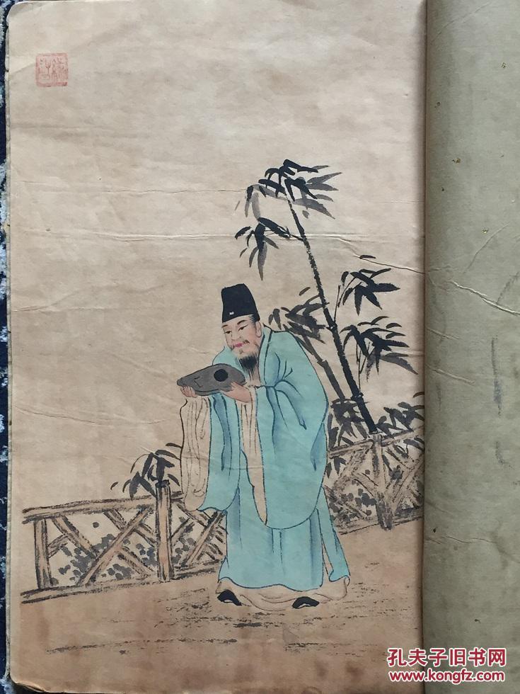 【图】清代宫廷画家 金门画史图片
