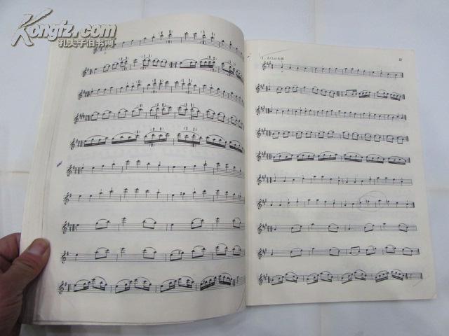 【图】小提琴音阶教程(上下)图片