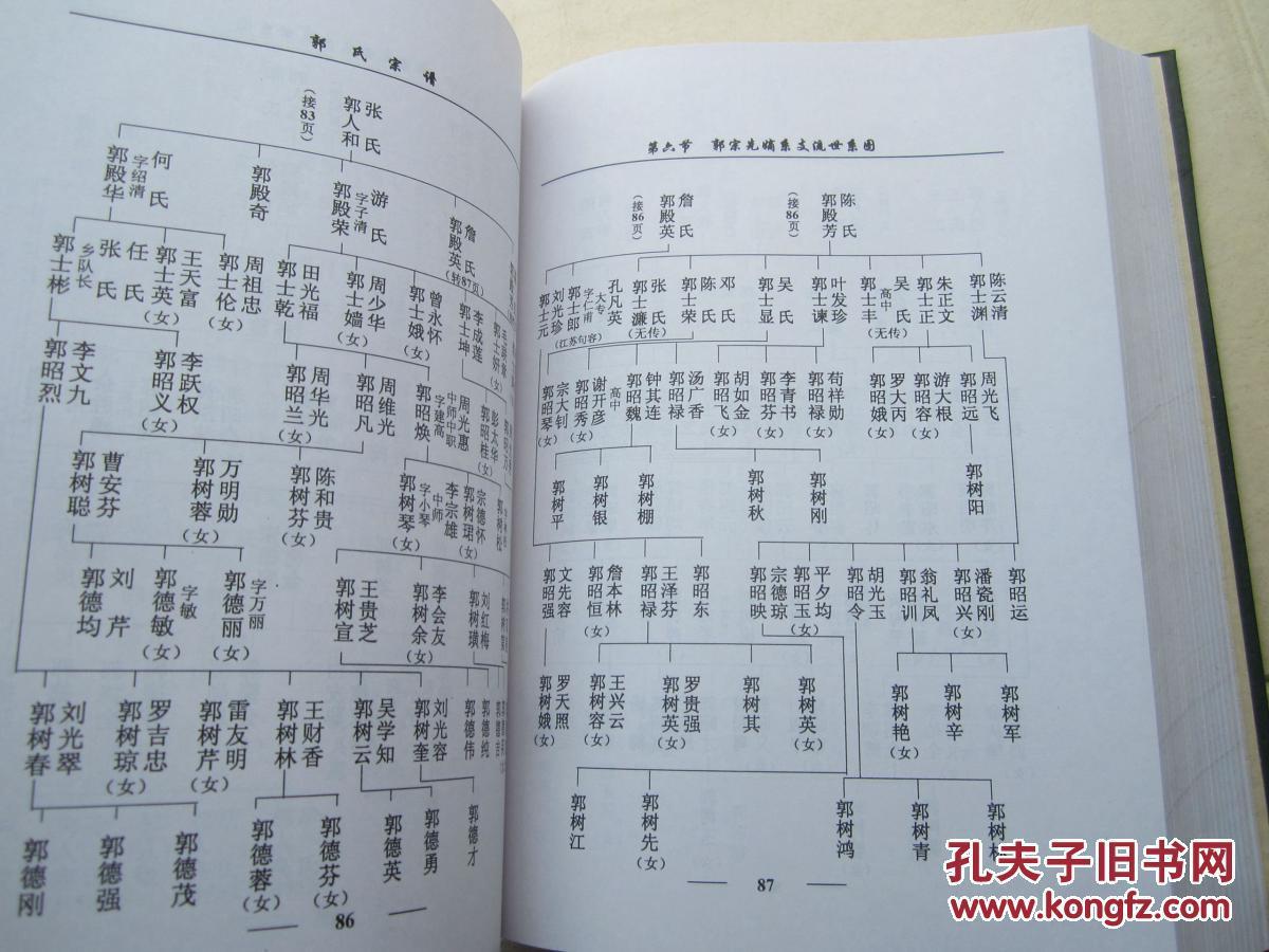 郭氏家谱字辈图片