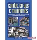 【DS】英文原版《Condos, Co-Ops, & Townhomes【公寓,合作社,联排别墅】》大32开 软精 品好 有漂亮的英文名片书签