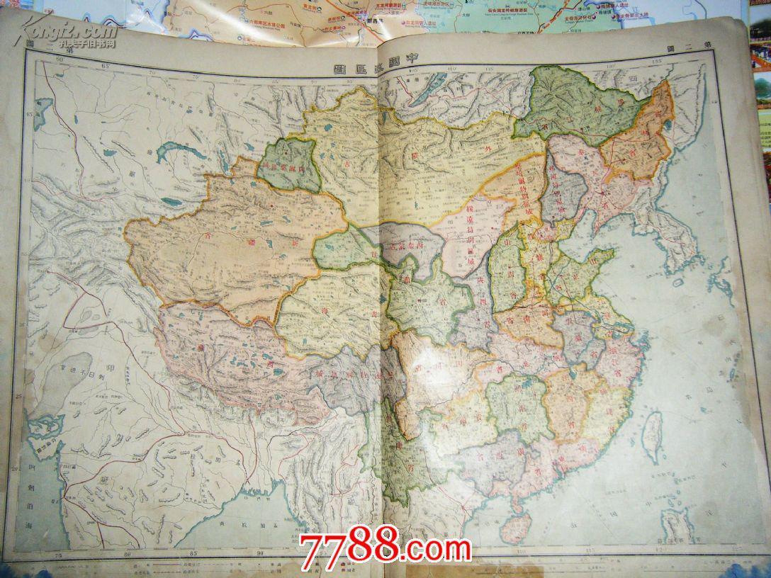 汕头城区图-民国初北洋时期-商务印书馆印的地图