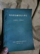 哈尔滨金融历史大事记(1895--1994)!