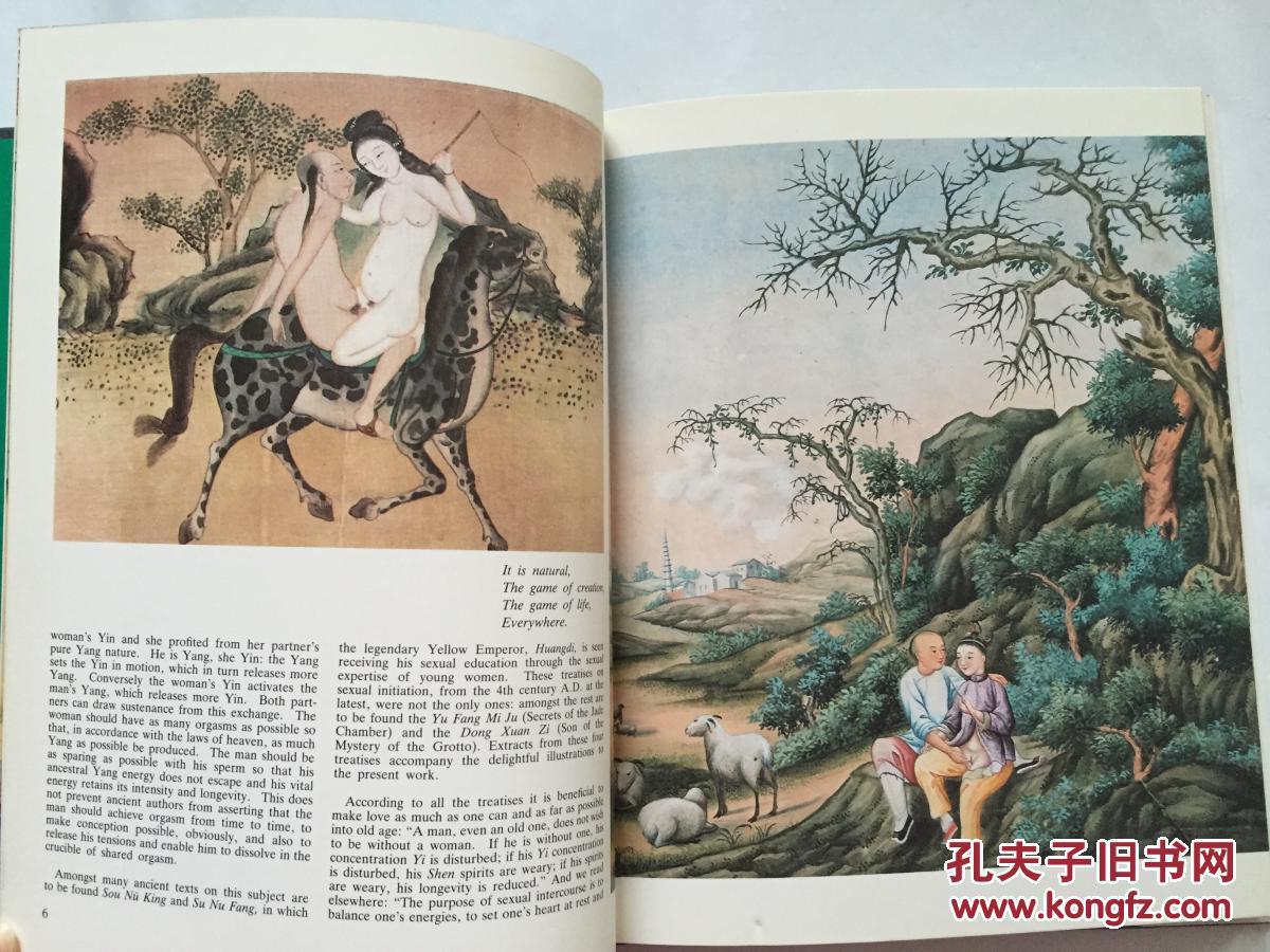 情色艺木中���-yol_【现货 包邮】1981年《chinese erotism》--中国情色艺术,收录明清