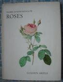 1963年Redoute Roses《玫瑰花图谱》大图册 初版本 9张彩色珂罗版插图