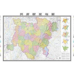 天府新区地图图片