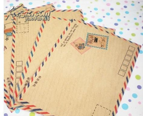【图】复古航空信封 欧式信封