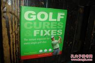 Golf Cures &Fixes,高尔夫治疗及修复(品相好,精装本少,英文原版书)【№71-13】