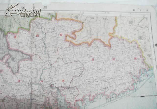 【图】早期:广东省地图