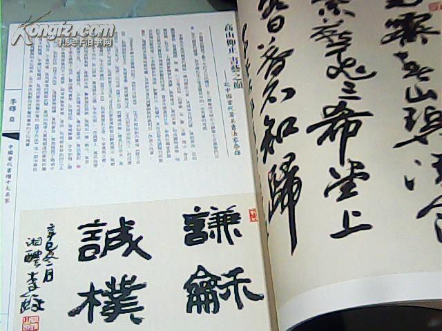 中国当代书画十大名家 书法卷图片