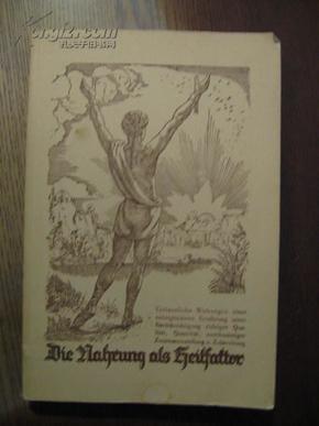 DIE NAHRUNG ALS HEILFAKTOR  食品医药因子 德文原版