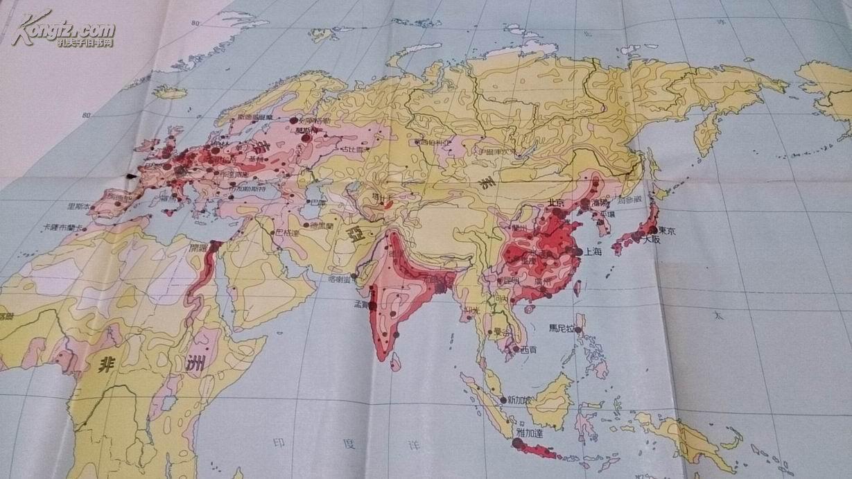 世界最大的城市_人口密度最大的城市