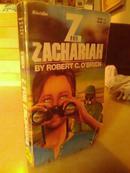 「经典外文原版」斯洛伐克语《ZACHARIAH BY ROBERT C.O\BRIEN《撒迦利亚  罗伯特·C.O奥布莱恩》》