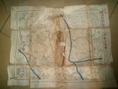 日本侵华铁证实物昭和12年即1929年已秘制测量极秘广东作战地图了,早芦沟桥事变8年早侵占广东9年!--西江地区五万分之一兵要地志图