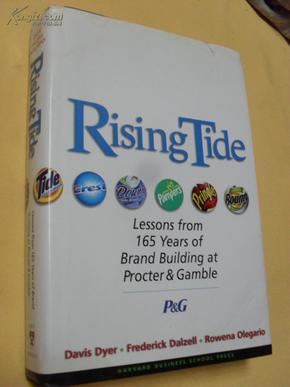 英文原版 大精装   Rising Tide: Lessons from 165 Years of Brand Building at Procter & Gamble by Davis Dyer