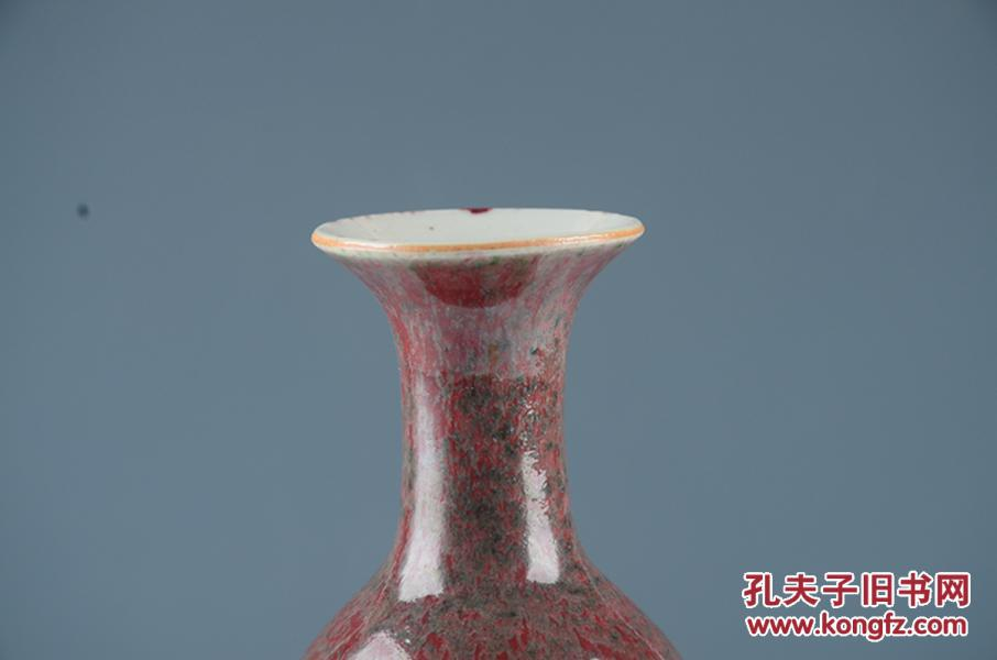 瓷器古玩古董古瓷器,美人醉釉柳叶瓶图片