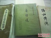 中国古典文学读本丛书---唐诗选 下