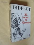 法文原版 狄德罗《拉摩的侄儿》 Le neveu de Rameau :    et autres textes.DIDEROT