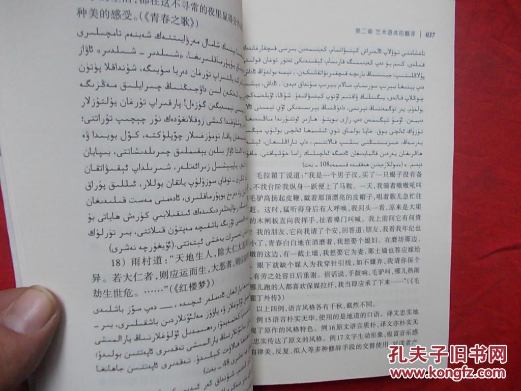 语体翻译理论与技巧(汉语维语翻译技巧)
