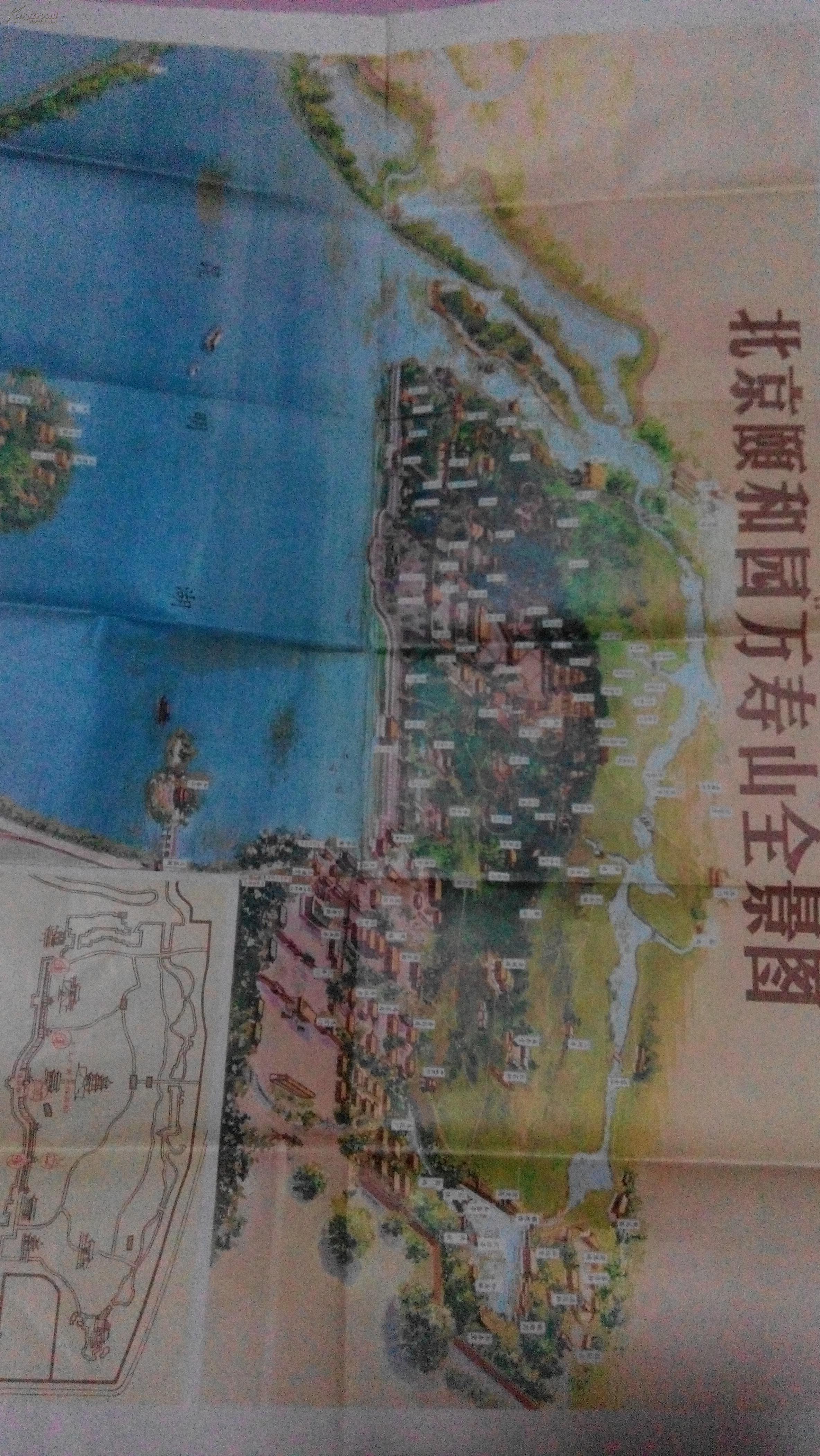 颐和园地图_颐和园手机导游_语音导游_风景网