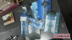 漓江风光明信片10张  1985年版  无邮资未用过  外文版有涵套