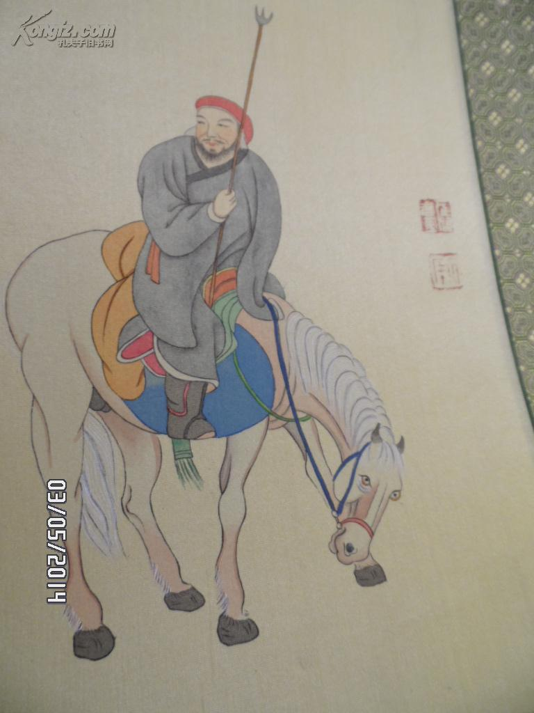 【图】手绘《骑马图》11幅