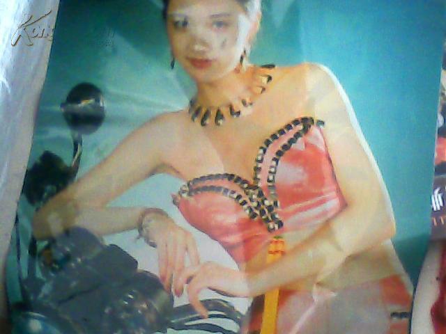 【图】1996年塑纸美女挂历