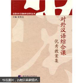 北语对外汉语教学法研究丛书:对外汉语综合课背景设计思路和教案是一样的吗图片