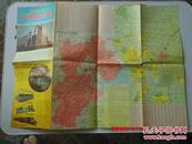地图  石家庄市交通旅游图   1996.8