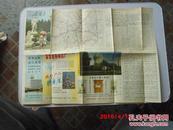 地图  石家庄交通图   1987.3