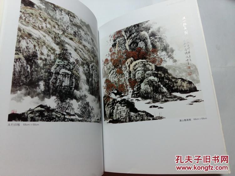 刘栋山水画作品集 中国当代书画名家精品集 正版保障 内图实拍图片