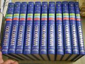 日文原版《21世纪世界百科》『カロラマ』(全11巻) 厚本革面精装