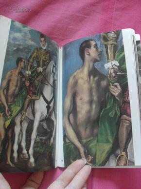 英文原版        艺术画册  El Greco