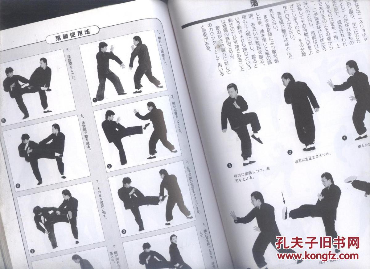 中国拳法の基本,日文原版,现货图片